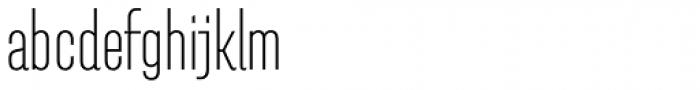 Pasarela Bold Font LOWERCASE