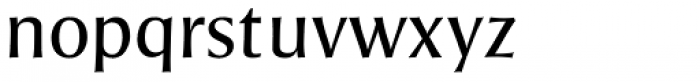 Pascal ND Regular Font LOWERCASE