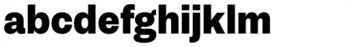 Passenger Sans Black Font LOWERCASE