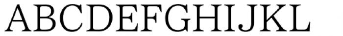Passenger Serif Light Font UPPERCASE