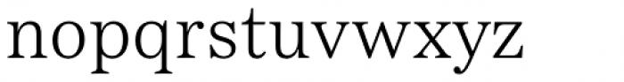 Passenger Serif Light Font LOWERCASE