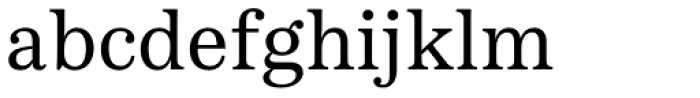 Passenger Serif Regular Font LOWERCASE