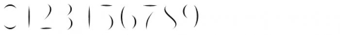 Passiflora Inline Font OTHER CHARS