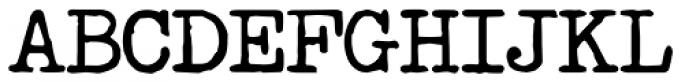 Passport Mono Bold Font UPPERCASE