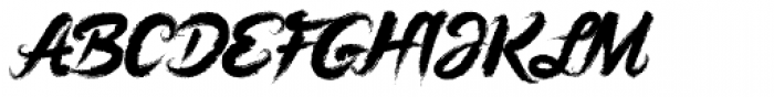 Pastel Font UPPERCASE