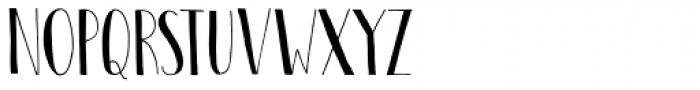 Pastis Font LOWERCASE