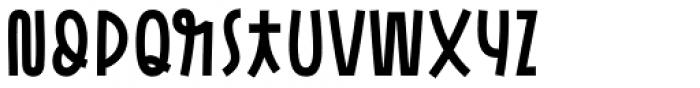 Pasto Sharp Bold Font UPPERCASE