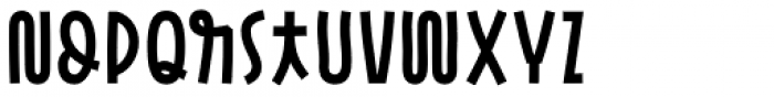 Pasto Sharp Bold Font LOWERCASE
