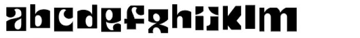 Patchwork Cut Font LOWERCASE