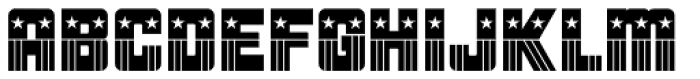 Patriotica JNL Font UPPERCASE