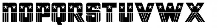 Patriotica JNL Font LOWERCASE