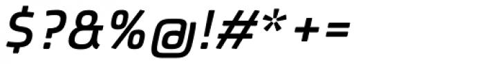 Patron Medium Italic Font OTHER CHARS