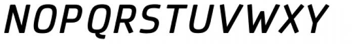 Patron Medium Italic Font UPPERCASE