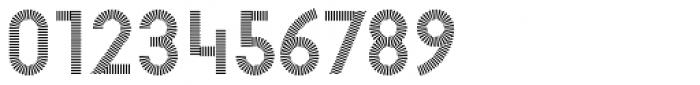 Pattern No1 Fine Regular Font OTHER CHARS