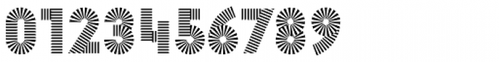 Pattern No1 Medium Bold Font OTHER CHARS