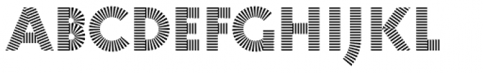 Pattern No1 Medium Bold Font LOWERCASE