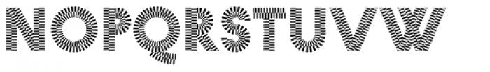 Pattern No2 Fine Bold Font LOWERCASE