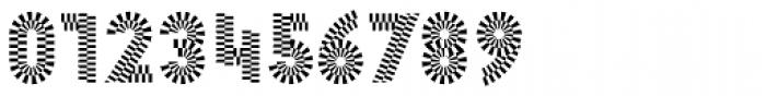Pattern No2 Medium Bold Font OTHER CHARS