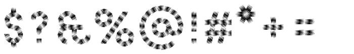 Pattern No5 Medium Regular Font OTHER CHARS