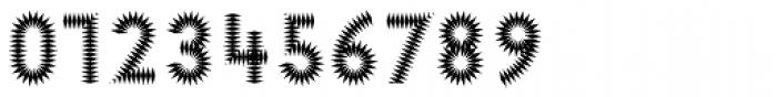 Pattern No6 Medium Bold Font OTHER CHARS