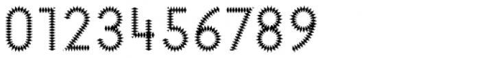 Pattern No6 Medium Regular Font OTHER CHARS