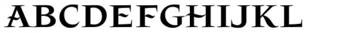 Patzcuaro Font LOWERCASE