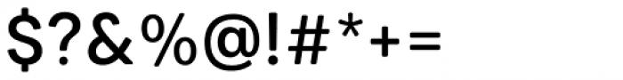 Paul Grotesk Soft Medium Font OTHER CHARS