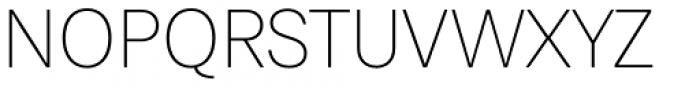 Paul Grotesk Soft Ultra Light Font UPPERCASE