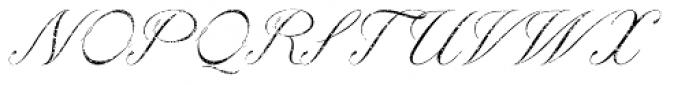 Paulette Eroded Font UPPERCASE
