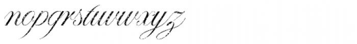 Paulette Eroded Font LOWERCASE