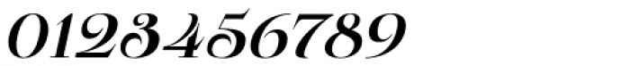 Pauline Didone Bold Italic Font OTHER CHARS