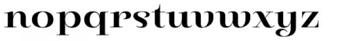 Pauline Didone Bold Font LOWERCASE