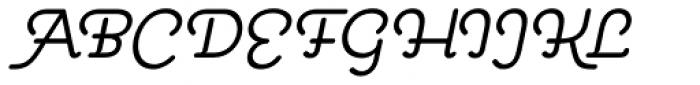 Pauline Oblique Font UPPERCASE
