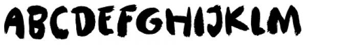 Pauseklovn Font UPPERCASE