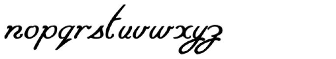 Paveline Font LOWERCASE