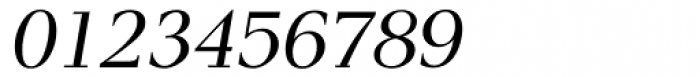 Pax Italic Font OTHER CHARS