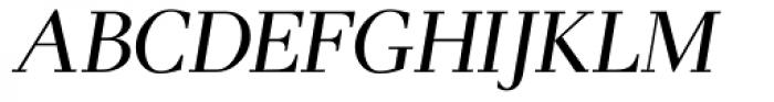 Pax Italic Font UPPERCASE