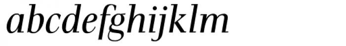 Pax Italic Font LOWERCASE