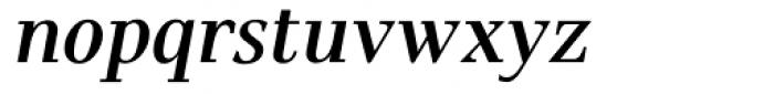 Pax SemiBold Italic Font LOWERCASE