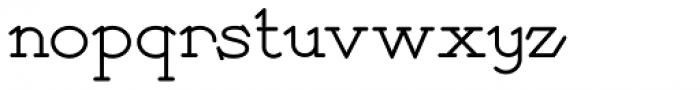 Payzant Pen NF Font LOWERCASE