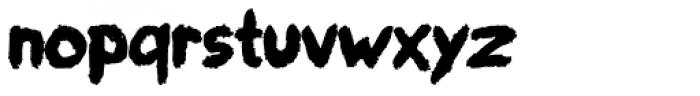 paintbrushdd Bold Font LOWERCASE