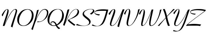 Pageant Font UPPERCASE