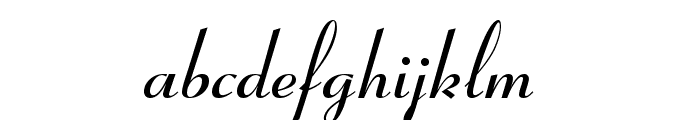 Pageant Font LOWERCASE