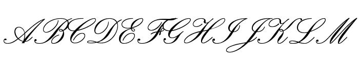 PalaceScriptMTStd-SemiBold Font UPPERCASE