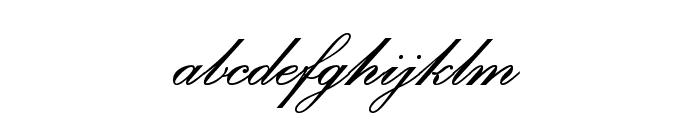 PalaceScriptMTStd-SemiBold Font LOWERCASE