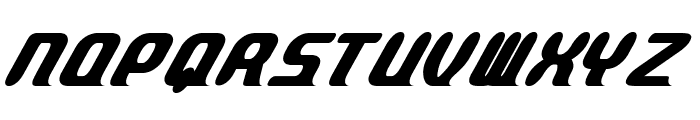 Parvo-BoldItalic Font UPPERCASE