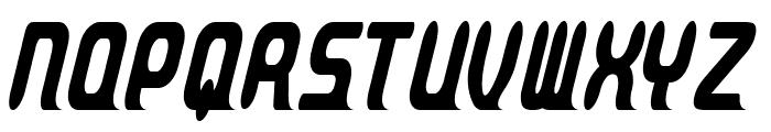 Parvo-CondensedRegular Font UPPERCASE