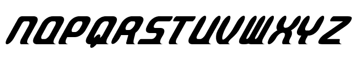 ParvoItalic Font UPPERCASE
