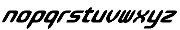 ParvoItalic Font LOWERCASE