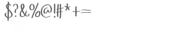pablo font Font OTHER CHARS